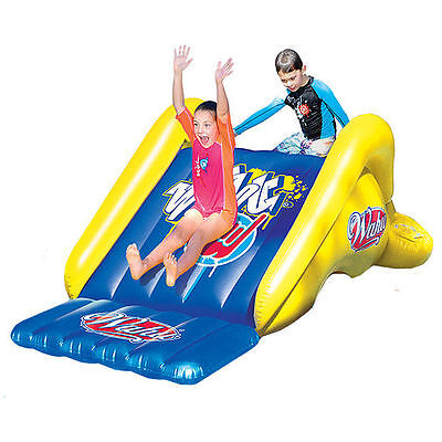 New Wahu Inflatable Pool Slide With Water Spray Attachment