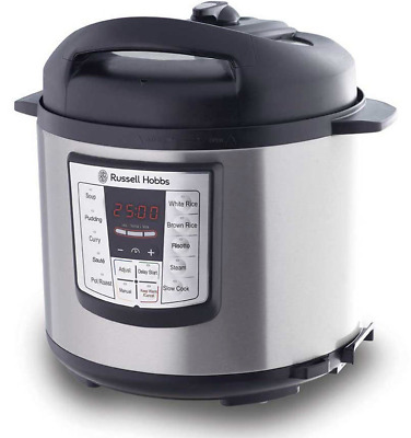 Russell Hobbs Express Chef Digital Multi Pressure Cooker RHPC1000 FAST SHIPPING