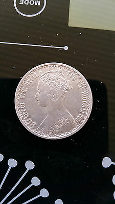 Great Britain , 1877 Gothic Florin Queen Victoria