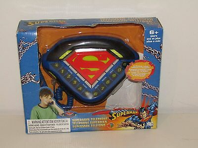 Superman Telephone Theme Song Built-In Ringer! New Condition!!!