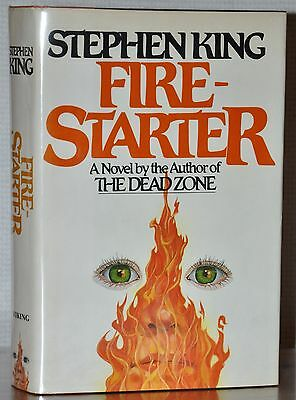 Fire-Starter~ Flat *signed* 1St/1St Edition~ Stephen King