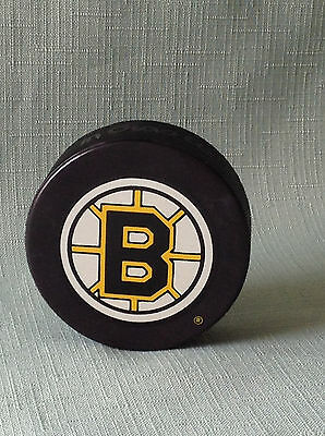 1992-94 Boston Bruins Game Puck Inglasco Canada NHL In Glas Co Bettman