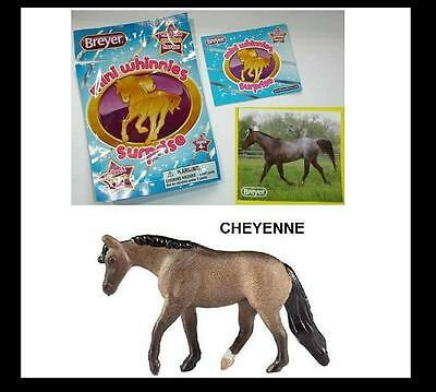 Breyer Mini Whinnies Surprise Series 1 CHEYENNE JOG TROT QUARTER HORSE MARE LOT