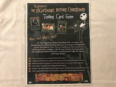 2005 Neca The Nightmare Before Christmas T/C Game Lot + Ultra Rare Foil Set (12)