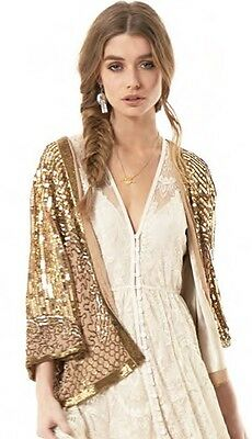 Spell And The Gypsy Collective Designs Stardust Jacket S/M NWT