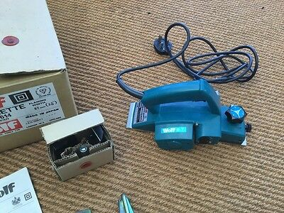 Wolf 8614 Electric Heavy Duty Planer 240V (Makita)