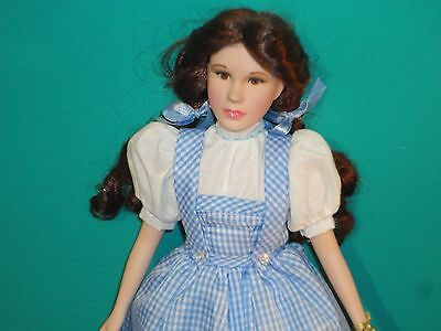Wizard Of Oz Porcelain Dorothy Doll Figure