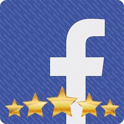 Buy 250 Facebook Fanpage 5 Star Ratings Reviews  - FAST DELIVERY - Genuine Sell