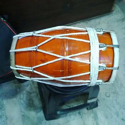 "ROPE + BOLT""DHOLAK^DHOLKI,REAL""PROFESSIONAL""for orcestra,FAST SHIPPING"