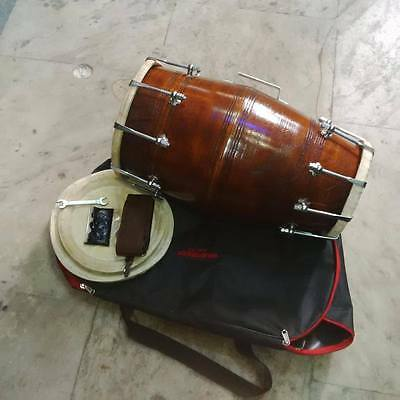 "GOOD dholak""SHESHAM_wood""bolt fitting,dhollki AMAZING sound best offer dholak"