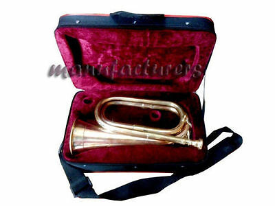 Bugle New Design Bb Pitch Great Professional Sound W.case..