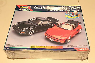 Revell Classic Porsche 911 Turbos Model Kit