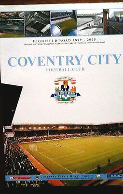 Coventry V Derby County 30/4/2005 Last Game @ Highfield Road
