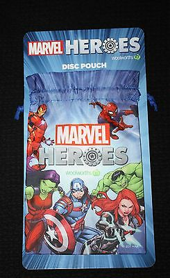 Woolworths Marvel Heroes Disc Pouch NEW (no discs)