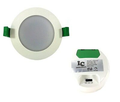 13w LED CCT Changing Downlight DIP Switch On Back 1000 Lumens IP44