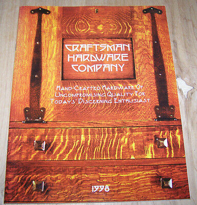 Arts & Crafts 1998 hardware catalog -40 pages