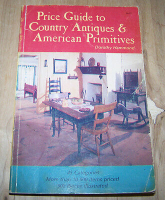 Country Antiques & American Primitives guide book  .. 277 pages