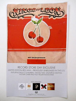 Kings of Leon Record Store Day Poster RARE Only By The Night Come Around Sundown