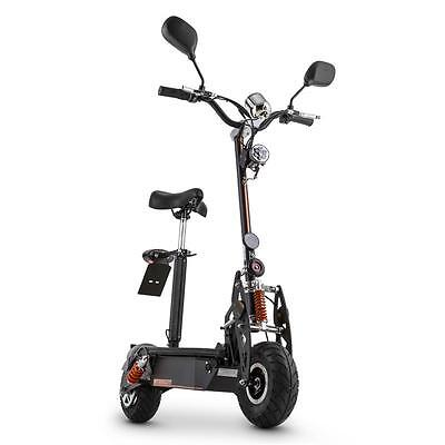 500 W POWERFUL ROAD ELECTRIC SCOOTER BIKE RIDE ON E-SCOOTER 36 V 20km/h SOLID