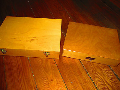 2x Vintage storage boxes . Crafts, arts ..