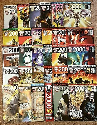 2000ad collection x30progs