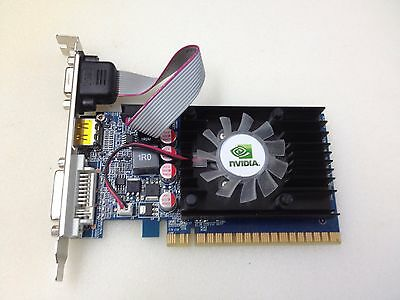 Captiva Geforce GT520 1GB GDDR3 PCI-E Grafikkarte DVI HDMI PCI-Express Nvidia