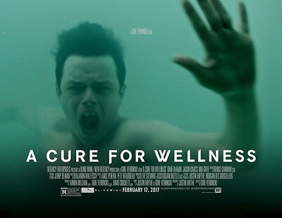 """004 A Cure for Wellness - Mia Goth 2016 Thriller USA Movie 30""""x24"""" Poster"""