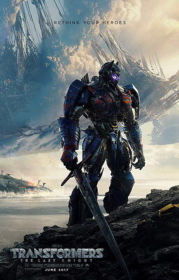 "021 Transformers 5 - The Last Knight 2017 Action Movie 24""x37"" Poster"