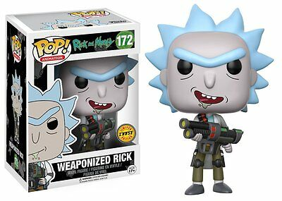 Weaponized Rick Chase Rick and Morty TV POP! Animation #172 Vinyl Figur Funko