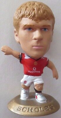 Paul Scholes 2005 Manchester Utd Football Corinthian Figure Gold Base MC4370