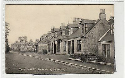MAIN STREET, BRIGHTONS, POLMONT: Stirlingshire postcard (C27633)