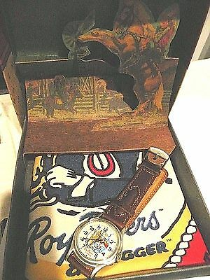 FOSSIL Roy Rogers and Trigger Watch 1993 Limited Edition NIB