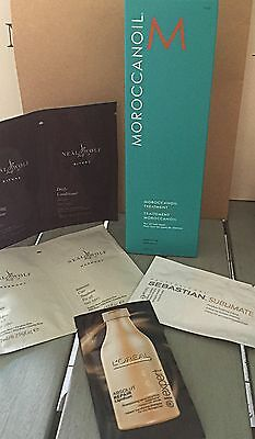 200ml MOROCCAN OIL WITH 4 samples