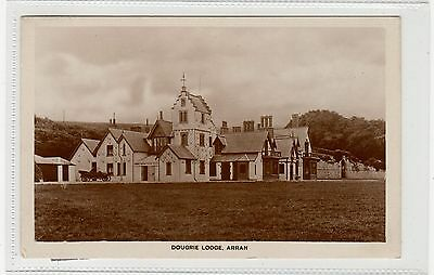 DOUGRIE LODGE: Isle of Arran postcard (C27752)