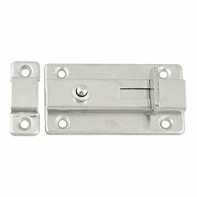 Home Drawer Window Door Safety Polished Bolt Stainless Steel Press Key