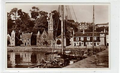 THE HARBOUR, TOBERMORY: Isle of Mull postcard (C27763)