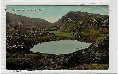 LOCH NA NARM: South Uist postcard (C27809)