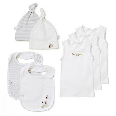 NEW Marquise Baby Essential Accessories White/Grey Size 000