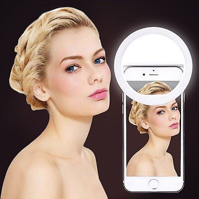 Selfie Ring Light with 36 LED Bulbs Fill Camera Portable Iphone Photography New