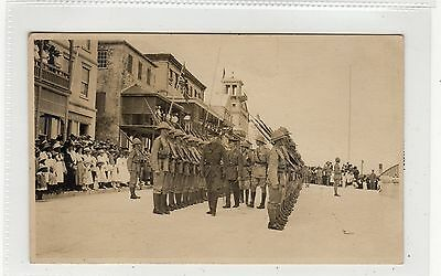 Picture postcard of the East Yorks Regiment in Bermuda (C27567)