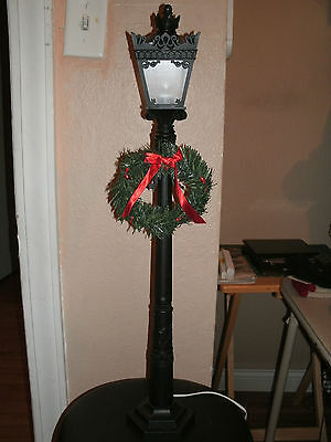 Authentic Byers Choice Black Lamppost Accessory Lantern