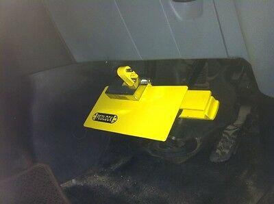 Car security Pedal Lock Ford Transit, Transit Connect and Transit Custom