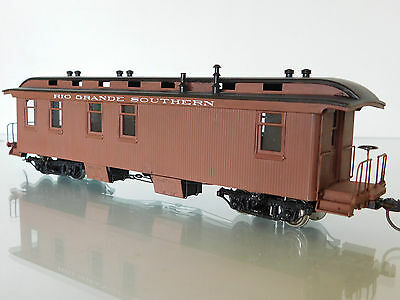"Sn3 Pacific Fast Mail Brass Rio Grande Southern (RGS) Private Car B-21 ""RICO"""