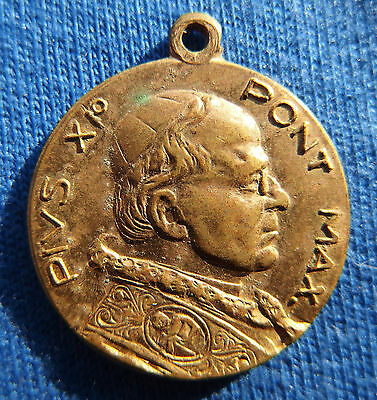 Ancient medal of Pope Pius XI Holy year 1925