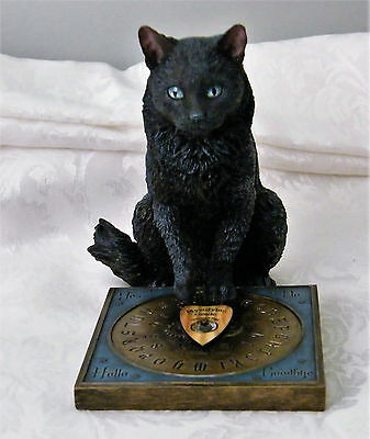 Cat Figurine 'His Masters Voice' by Lisa Parker New