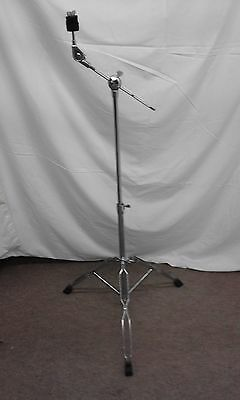 'Basix' double braced disappearing short boom cymbal stand.