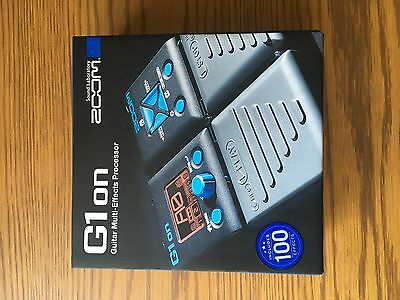 Zoom G1 on Guitar effect Pedal