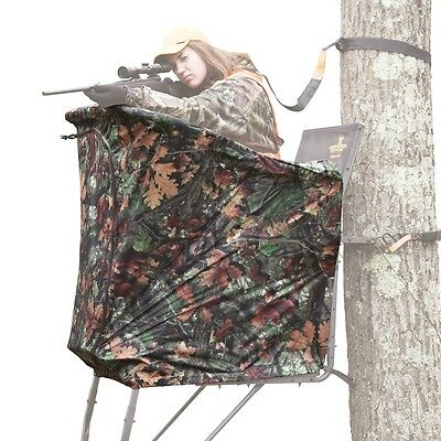 RE769 New Rivers Edge SYCT TALL UPPERCUT OASIS Treestand Concealment Curtain