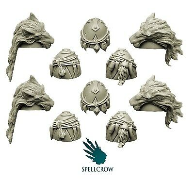 Spellcrow - Space Knight Shoulder Pads
