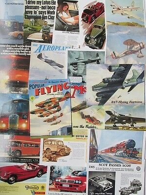 40 Assorted Vintage Ad Gallery Postcards - All New and Unused